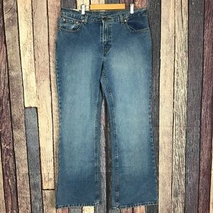 Vintage Jordache Low-Rise Flare Jeans 90s 14 Tall